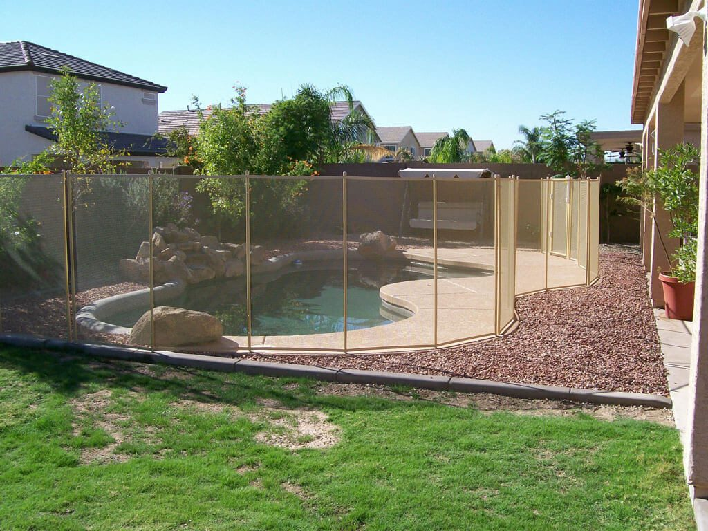 Mesh Pool Fencing Dcs Pool Barriers