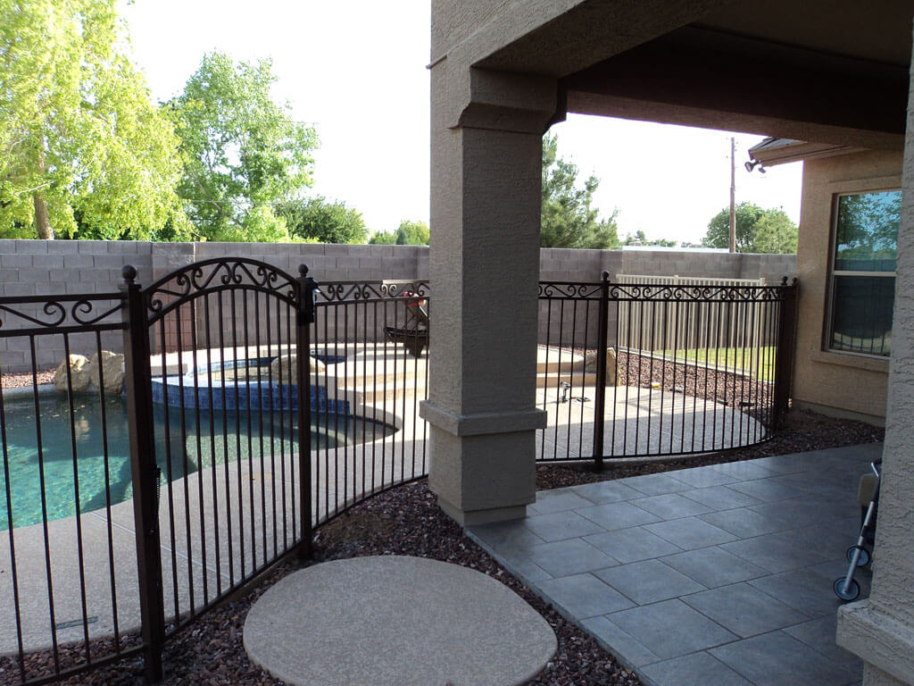 Dcs Wrought Iron Pool Fence 11 Dcs Pool Barriers