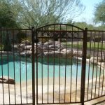 DCS Wrought Iron Pool Fence (2)