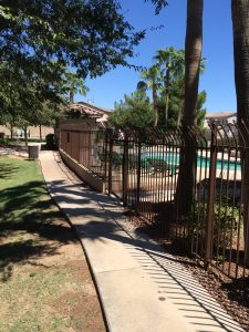 DCS Pool Barriers Wrought Iron Commercial Pool Fencing