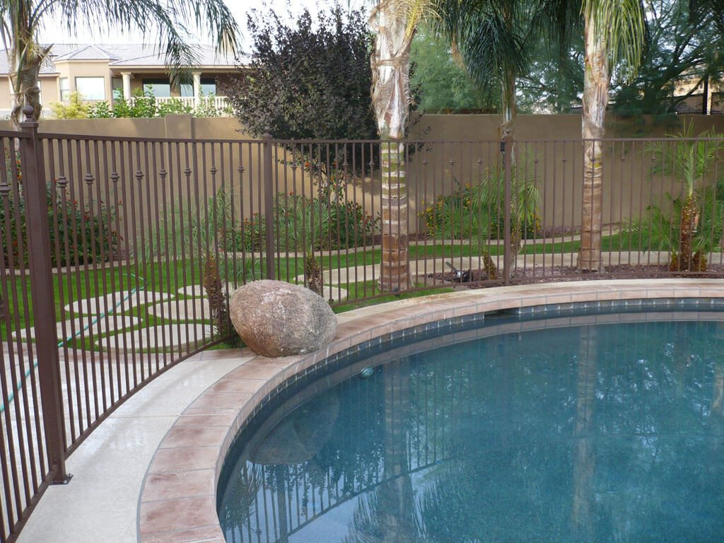 Image Result For Metal Pool Fence