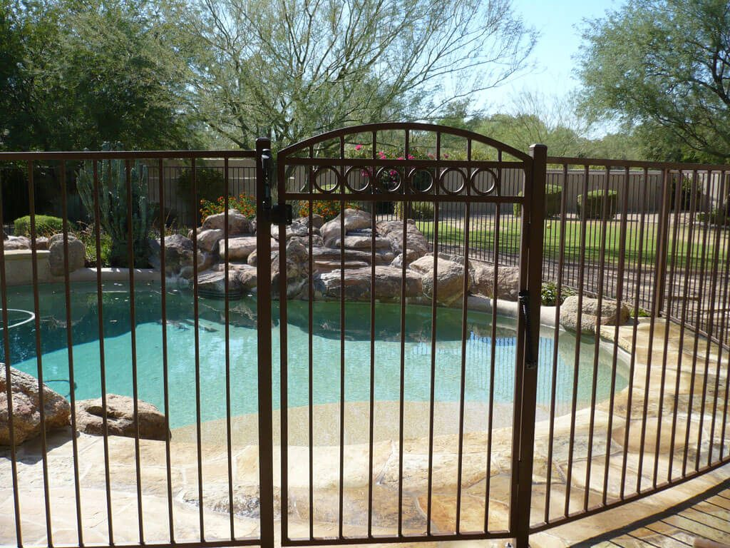 Decorative Pool Fence Gates - DCS Pool Barriers