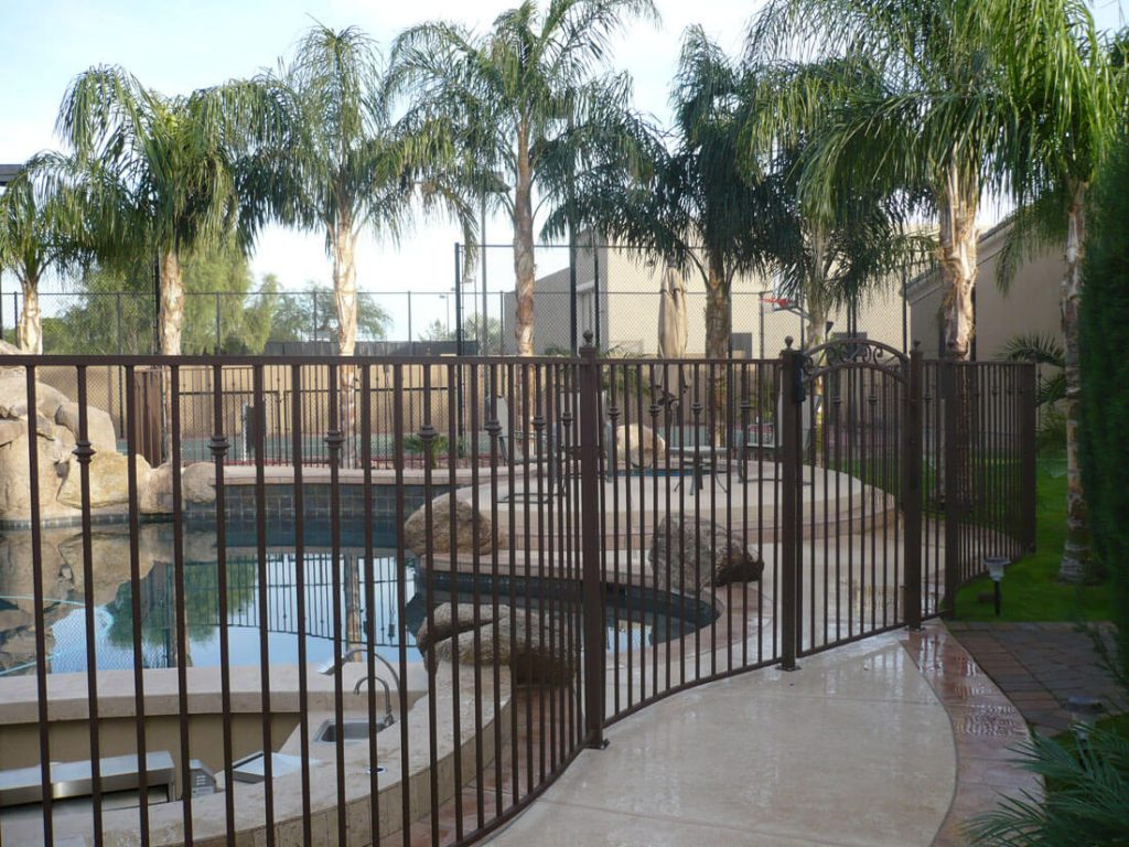 Residential Wrought Iron Pool Fencing Dcs Pool Barriers