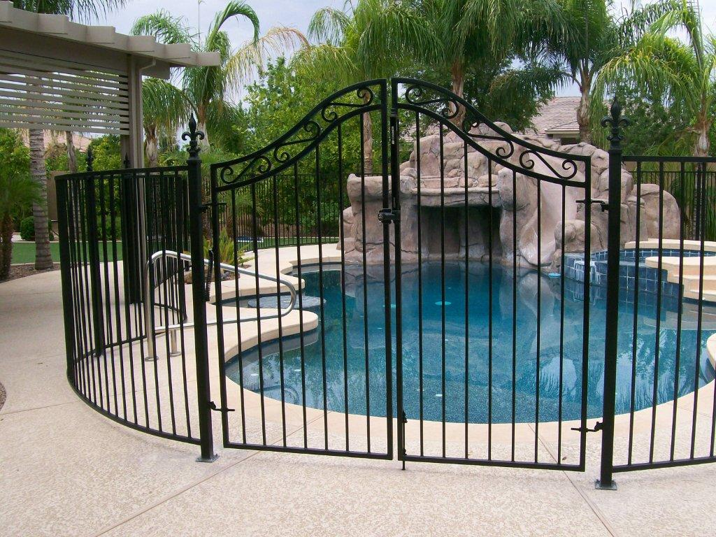 DCS Wrought Iron Pool Fence 200 - DCS Pool Barriers