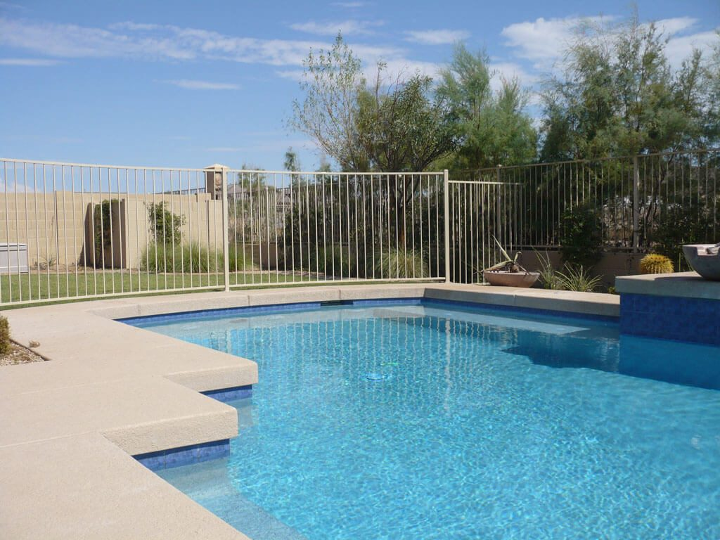 Residential wrought iron pool fencing dcs barriers