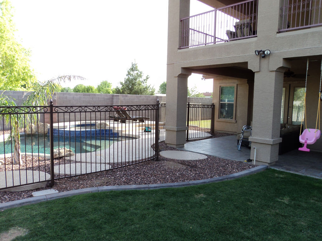 Dcs Wrought Iron Pool Fence 9 Dcs Pool Barriers