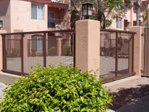 Pool Fencing, Pool Fences and Gates, DCS Pool Barriers, Scottsdale Villa Mirage