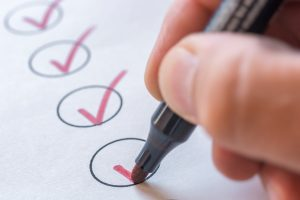 A checklist for ensuring the safety of the pool area.