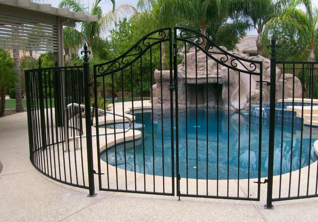 DCS Wrought Iron Pool Fence 200