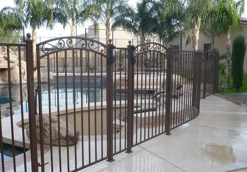 Pool Fences And Gates Phoenix Wrought Iron Pool Barriers Phoenix